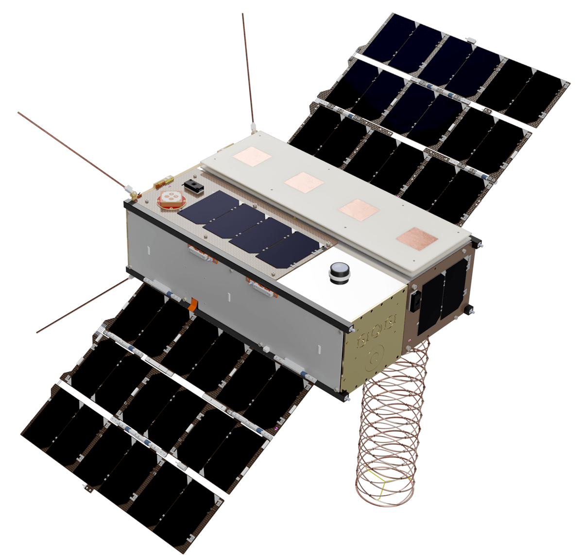 FARADAY-01 SATELLITE 3D MODEL